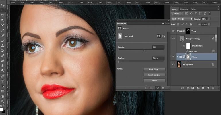 Uus kursus fotokursuse veebilehel: Portreefotode töötlemine Photoshopis
