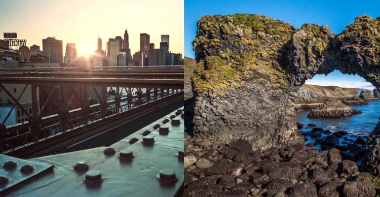 Suurlinn vs puutumata loodus – kumb time-lapse video sulle rohkem meeldib?