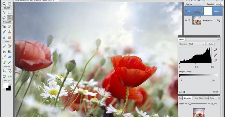 Fototöötlus Photoshop Elements 7 baasil kursusel ultrasoodne hind: -90%
