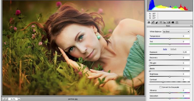 Uus fotokursuste sooduskomplekt õpetab profitasemel portreefotode töötlust