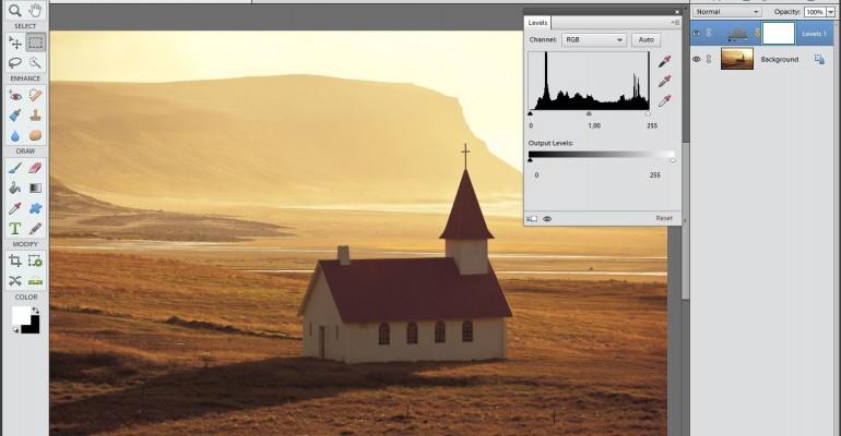 Uuendatud ja täiendatud Photoshop Elements 11/12 kursus õpetab fotode haldamist ja töötlemist 42 video abil