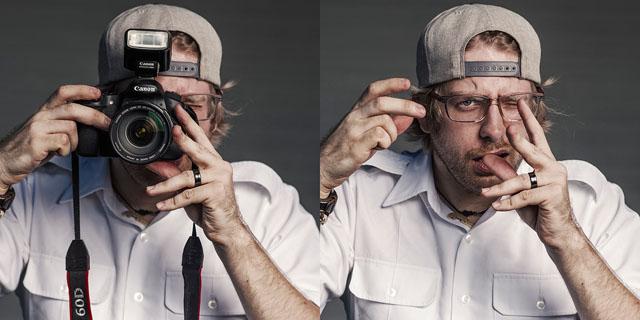 Oled sa mõelnud, milline on Sinu nägu fotokaamera taga?