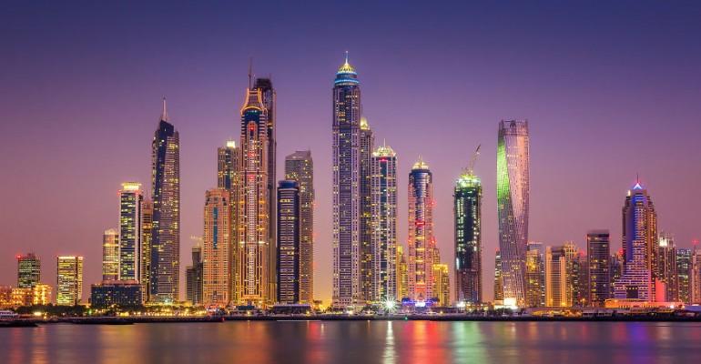 Öine Dubai näeb välja nagu stseen ulmefilmist
