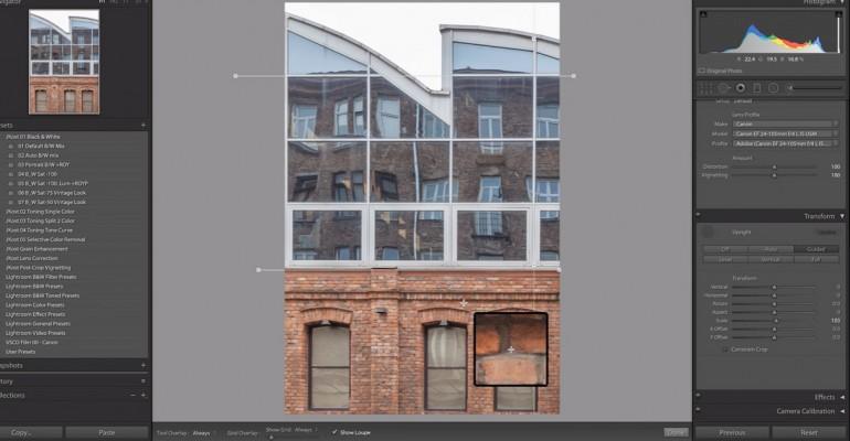 """Adobe Lightroom CC ja Camera Raw uue funktsiooniga """"Guided Upright"""" saab perspektiivi lihtsamalt sirgeks"""