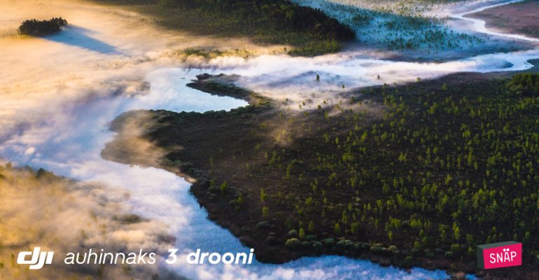 """Tõuse kõrgustesse – DJI fotokonkurss """"Kõrgelt"""" 2017 peaauhind on väärt 1699 €"""