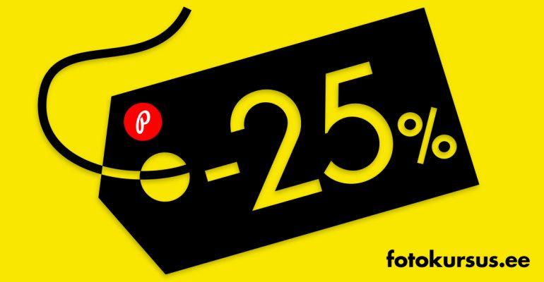 Suur e-ostlemise päev – kõik fotokursus.ee veebikursused on allahinnatud